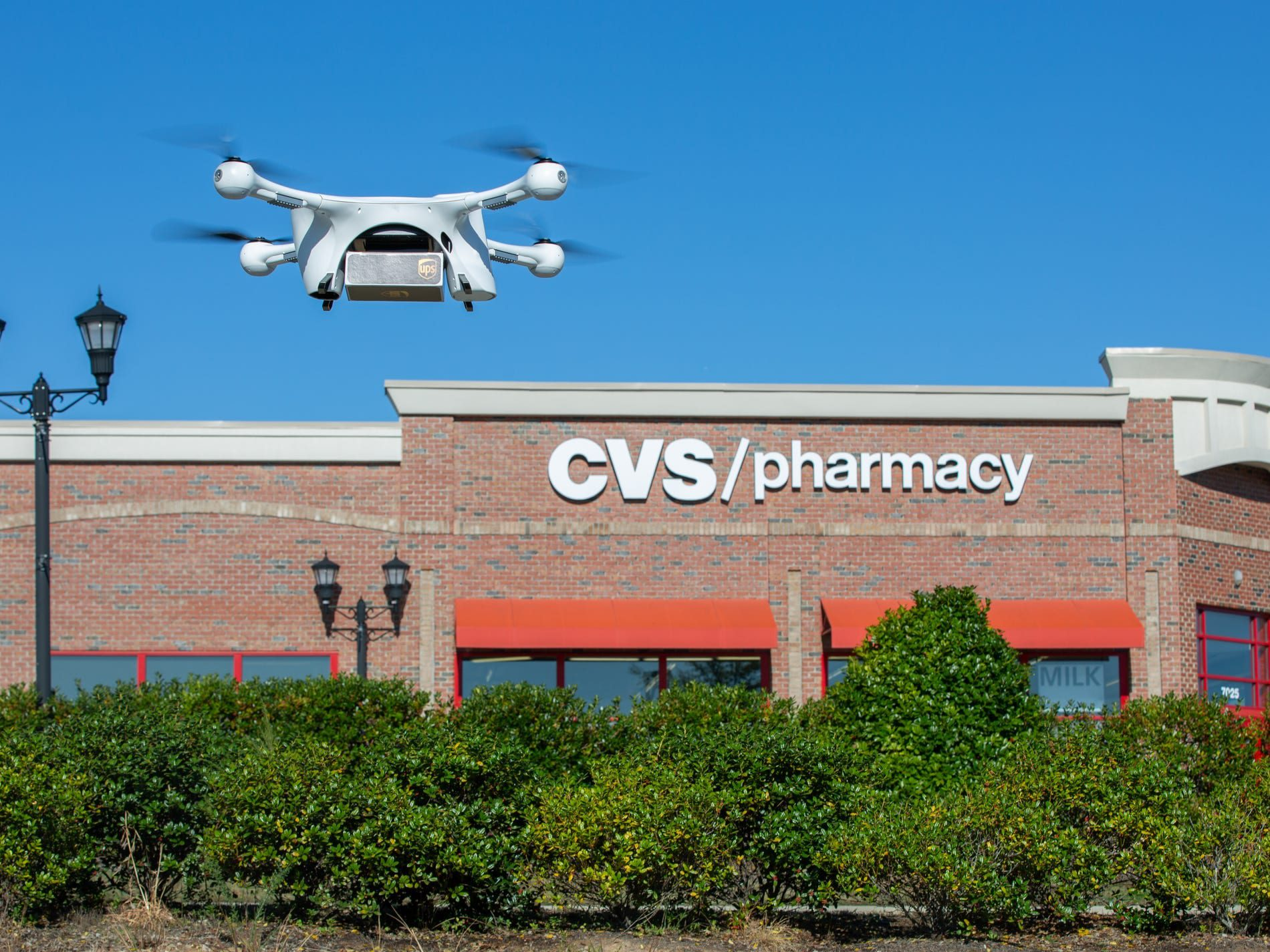 UPS delivery drones bring meds from CVS to largest retirement community