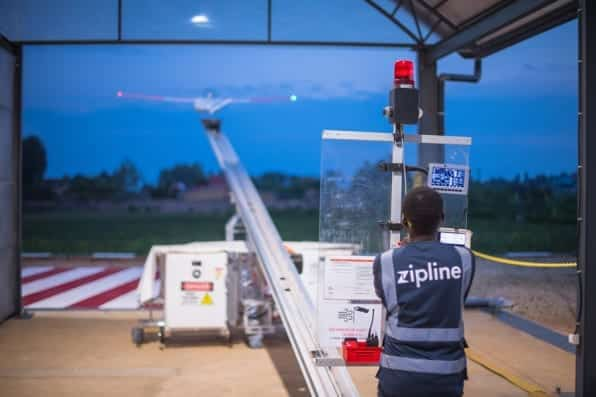 To fight Coronavirus Zipline brings medical delivery drones to the U.S.