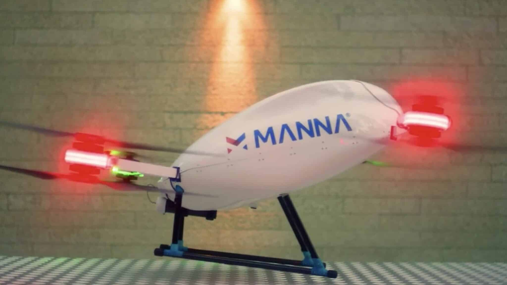 Irish drone startup Manna Aero delivers medicines to self-isolated people during Coronavirus crisis
