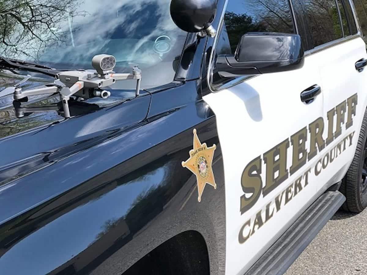 Calvert County Sheriff's Office puts DJI Mavic 2 Enterprise drones to fight Coronavirus