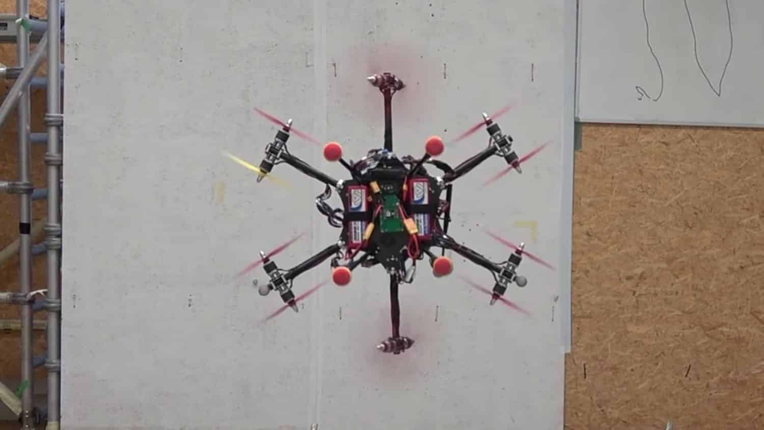 Check out this rotating omnidirectional drone from ETH Zürich