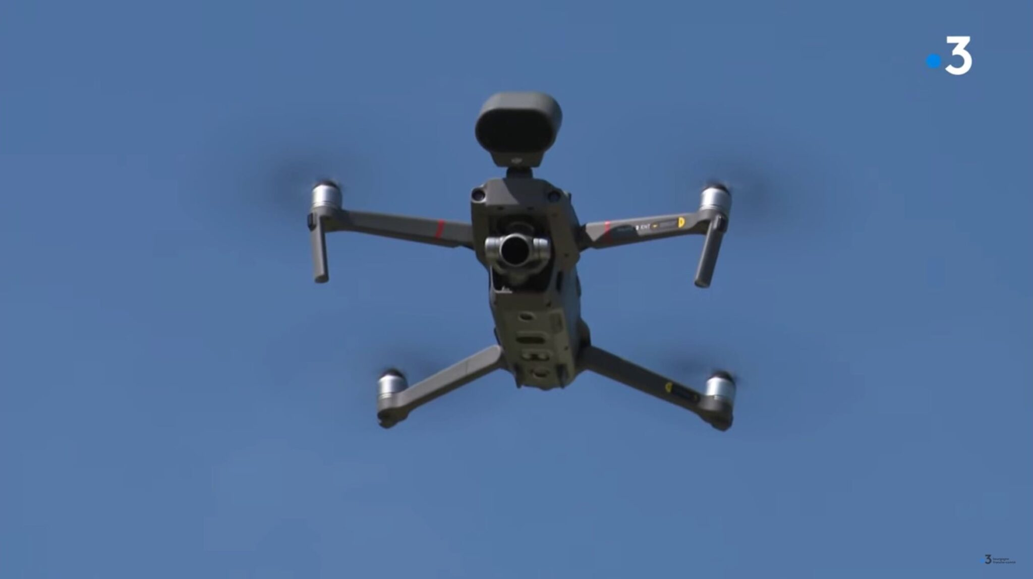 French police explains how they use DJI Mavic 2 Enterprise to fight Coronavirus