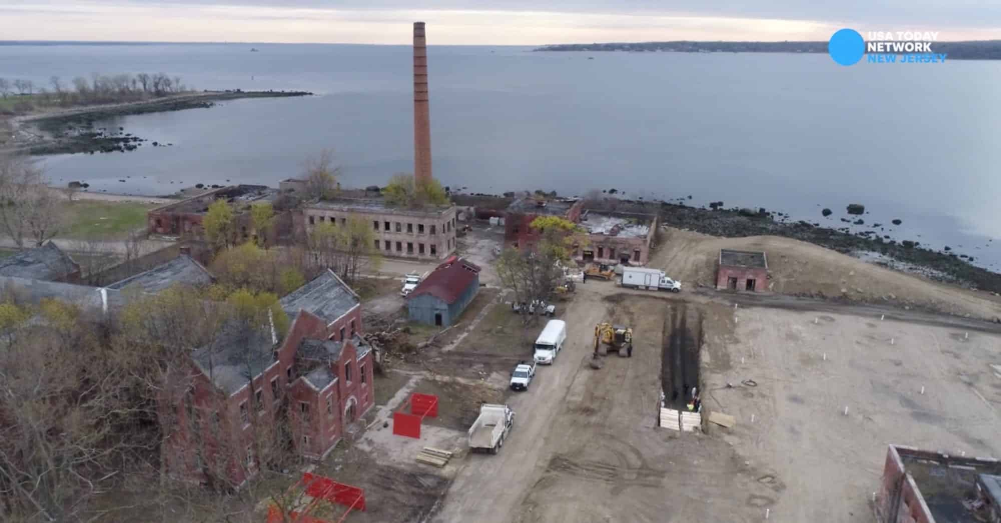 New drone video shows continued mass burials at Hart Island