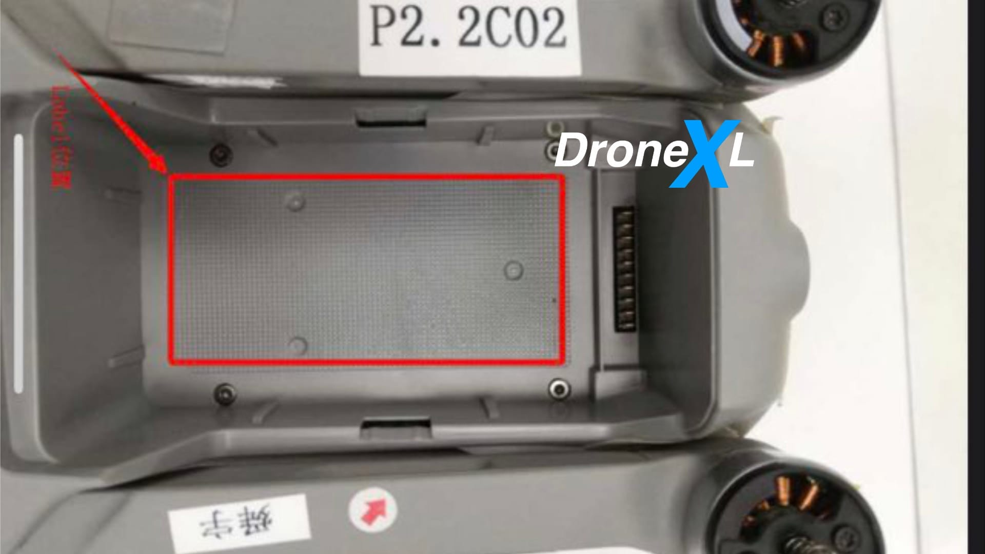 New photos show DJI Mavic Air 2 has no top obstacle avoidance sensors