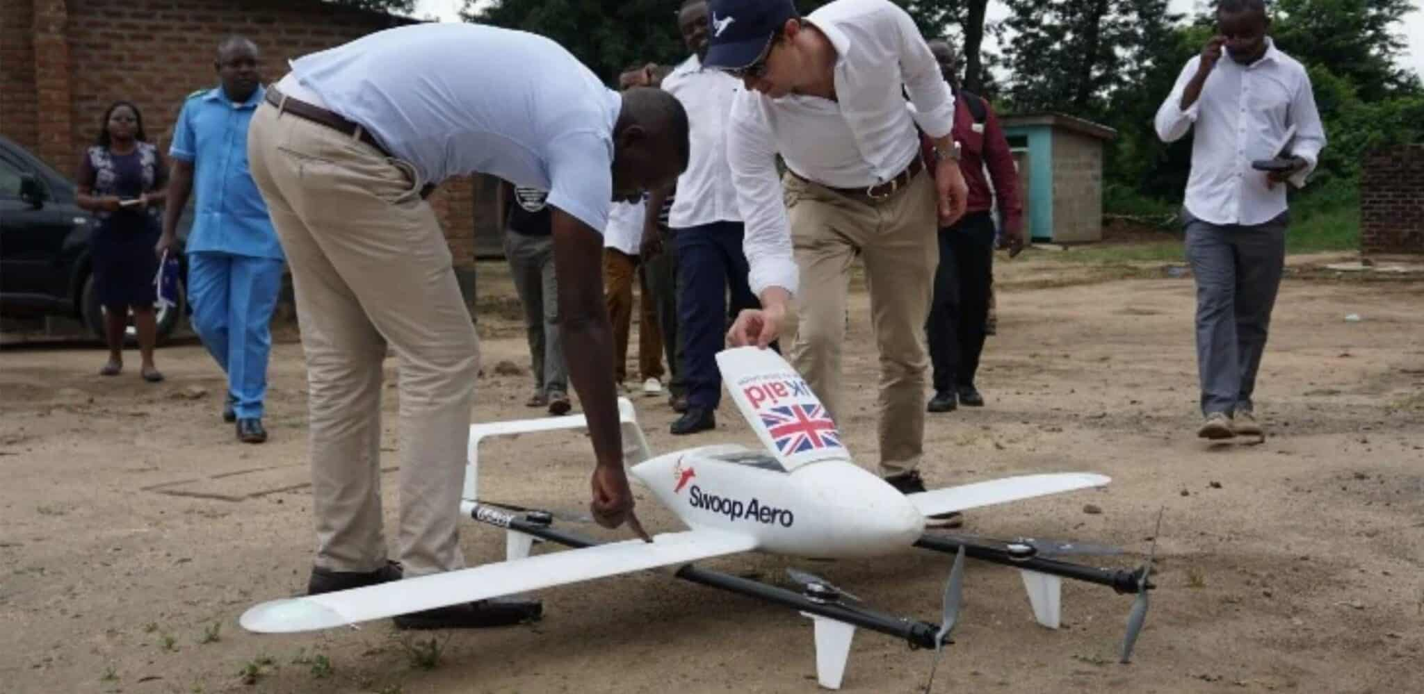 Swoop Aero operates drone fleet in Malawi remotely from their Melbourne office
