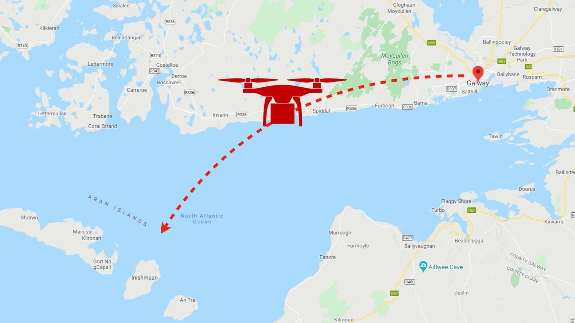World's first documented drone delivery of insulin happened in Ireland