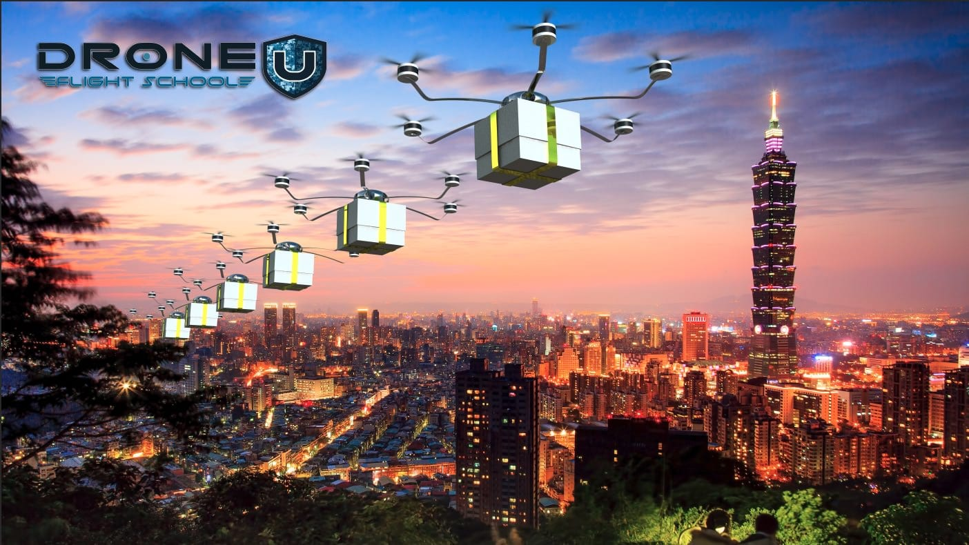 Commercial drone pilots can deliver by drone under Part 107 Certificate