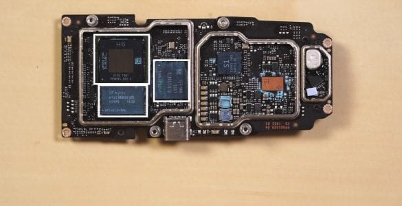 DJI Mavic Air 2 teardown video shows H6 processor