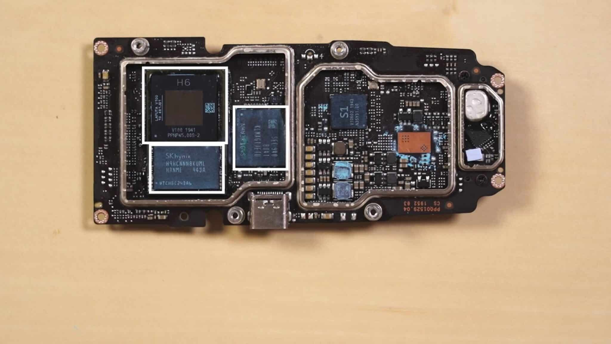 DJI Mavic Air 2 teardown video shows H6 processor
