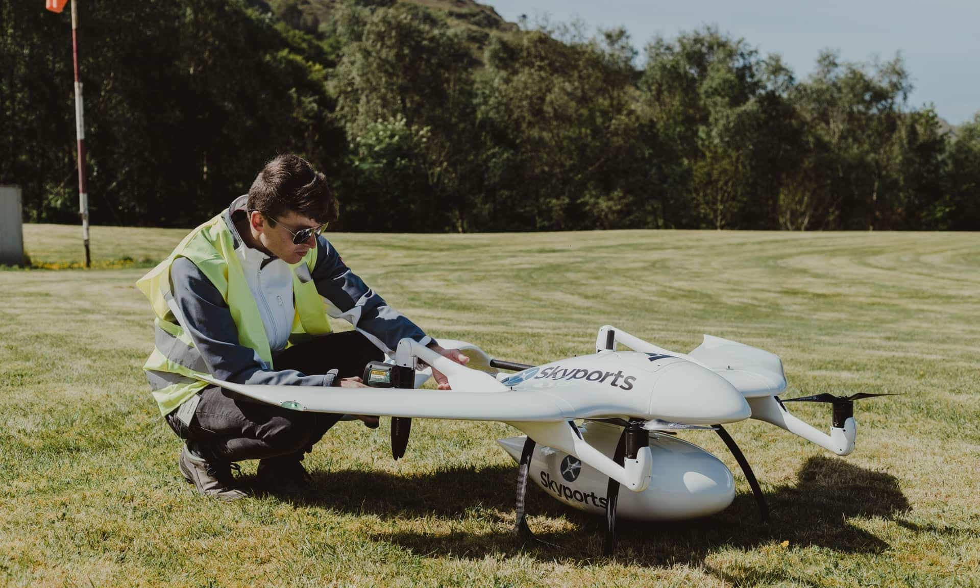 Drone deliveries take off in Scotland during coronavirus outbreak
