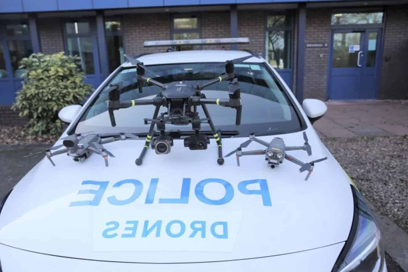 Drone unit impresses Nottinghamshire police during first six months