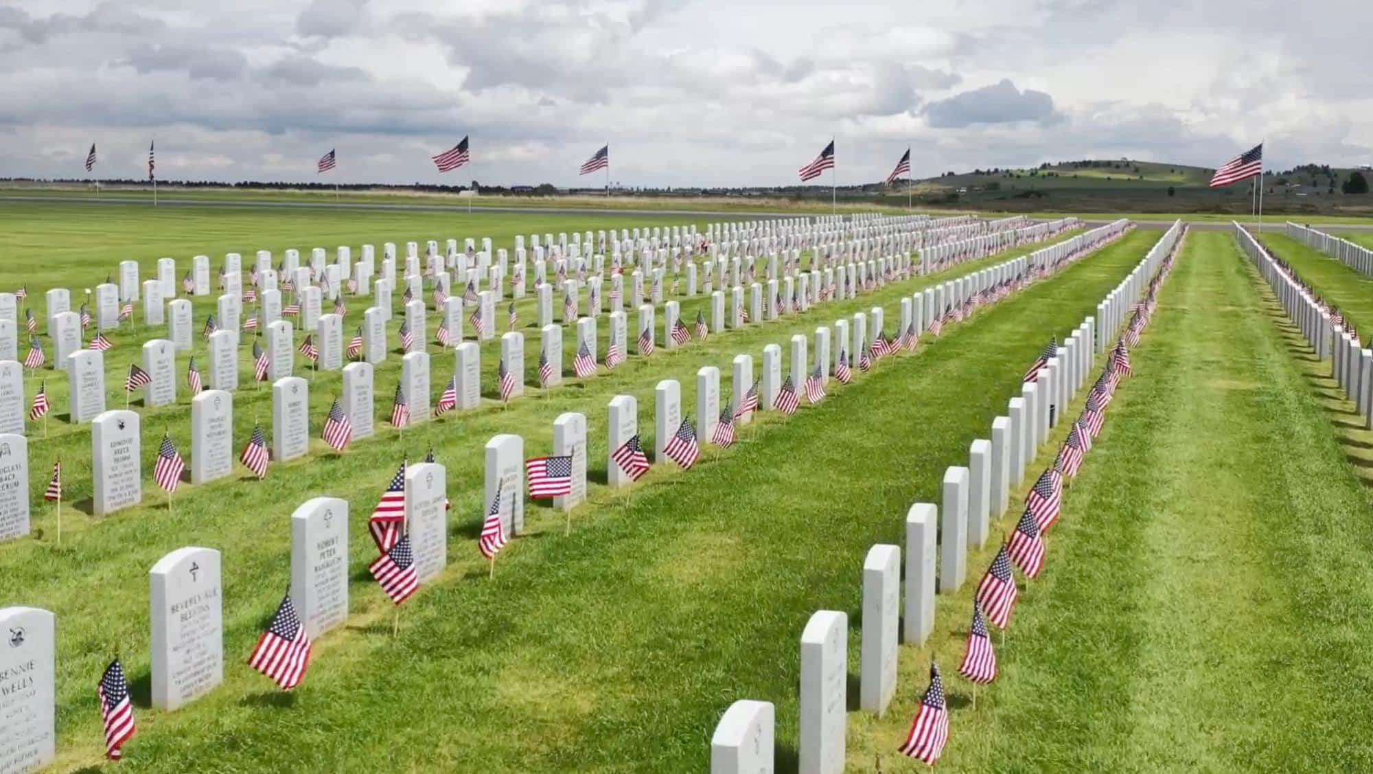 Drone video to honor veterans and fallen heroes on Memorial Day 2020