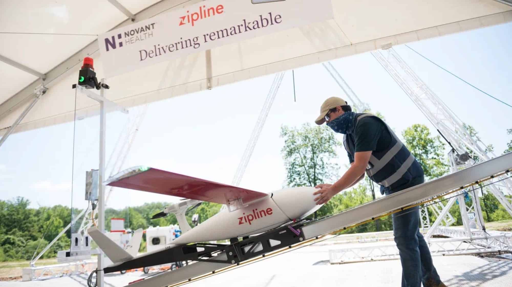 FAA approves Zipline's drone delivery system in North Carolina