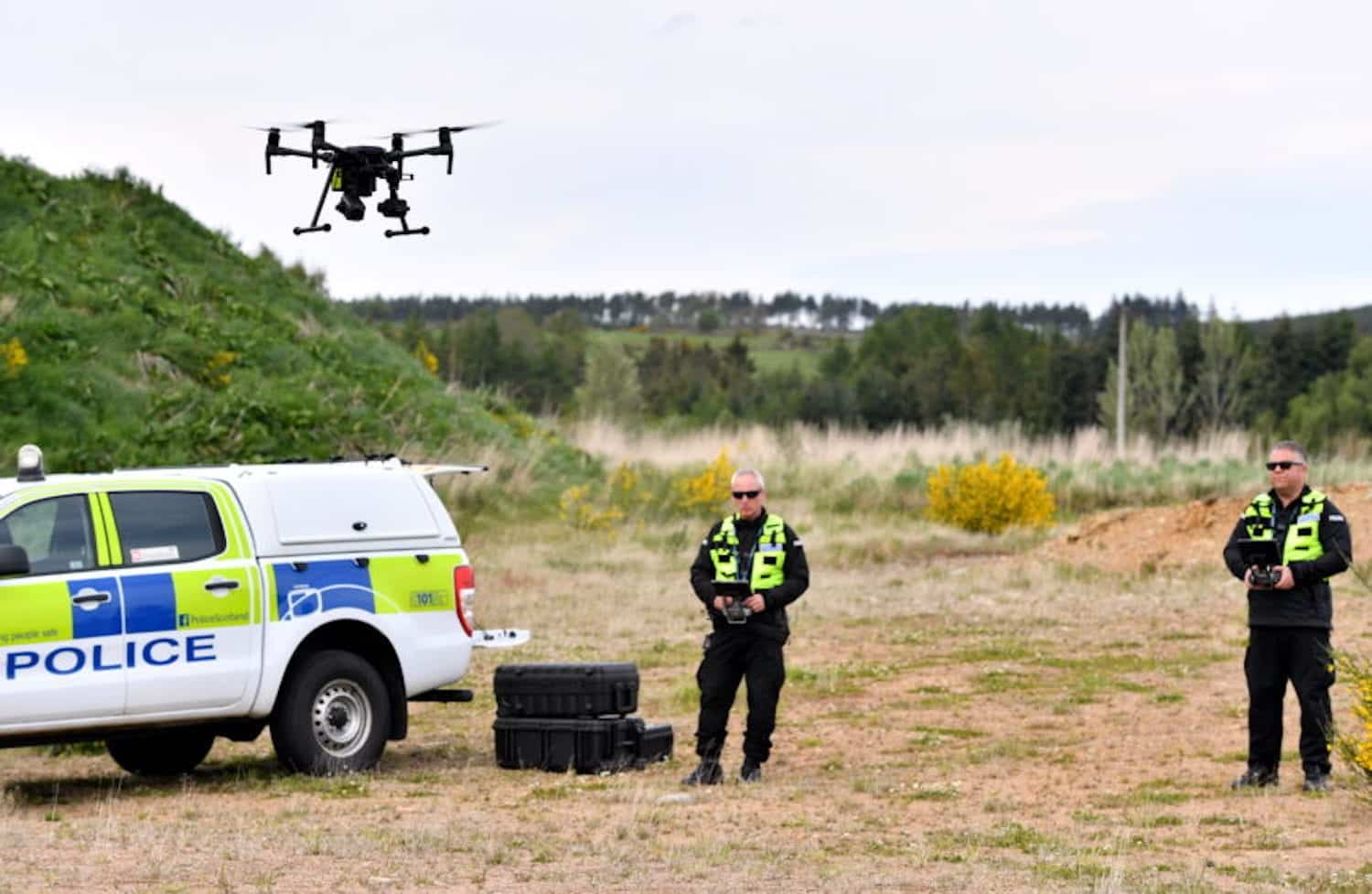 Police use drone in search for missing 74-year-old man