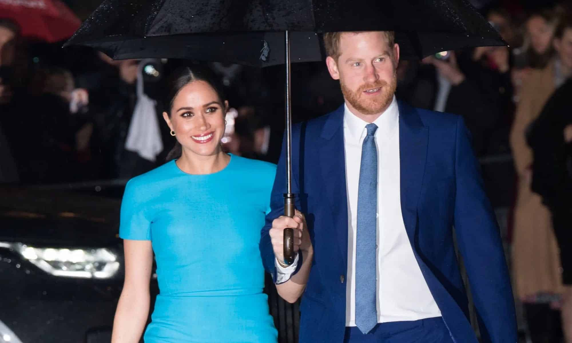 Prince Harry and Meghan have a serious drone problem