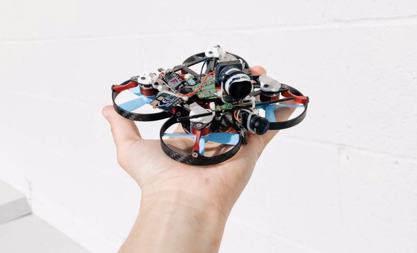 FPV drone-shot video