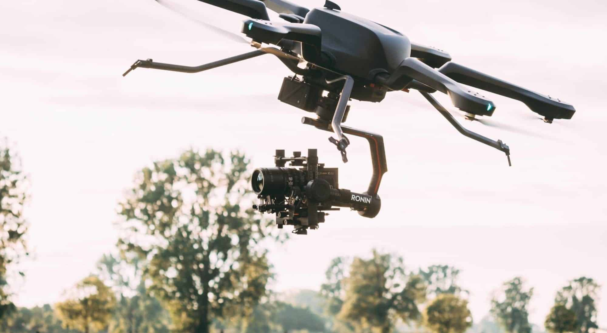 The Acecore Noa drone, a persistent heavy lifting hexacopter