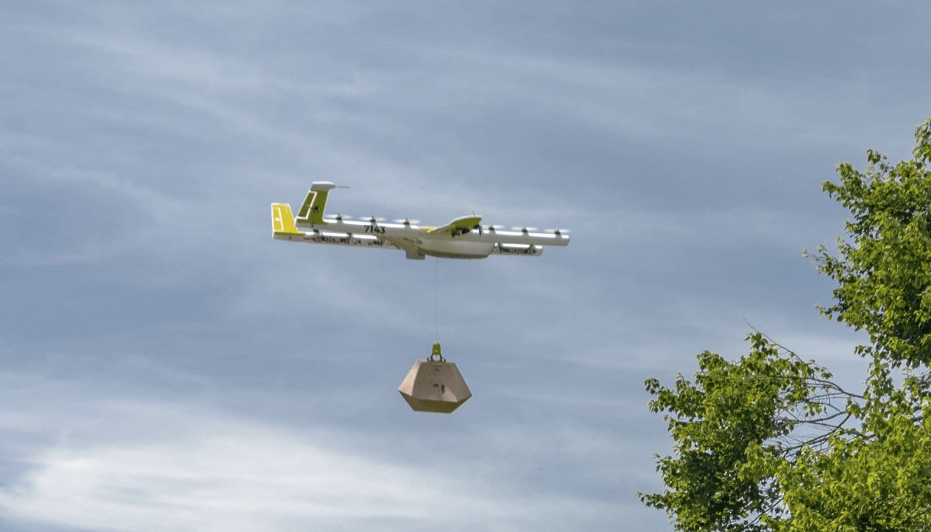 Wing drone delivery service has made thousands of deliveries during pandemic