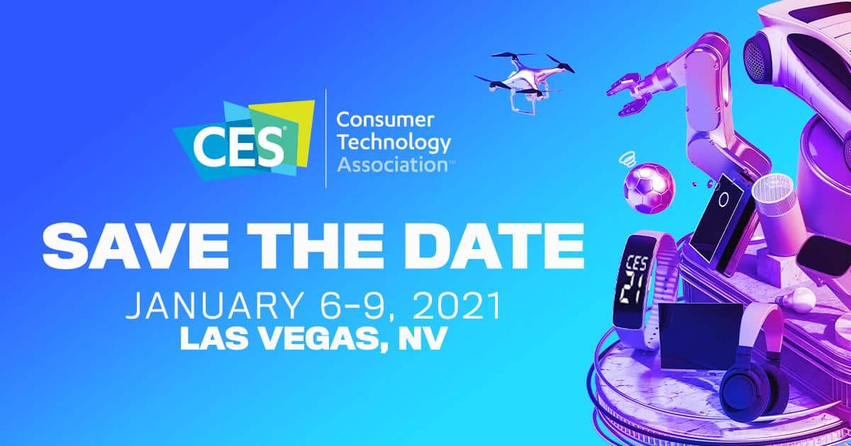 CES 2021 planned as an in-person event