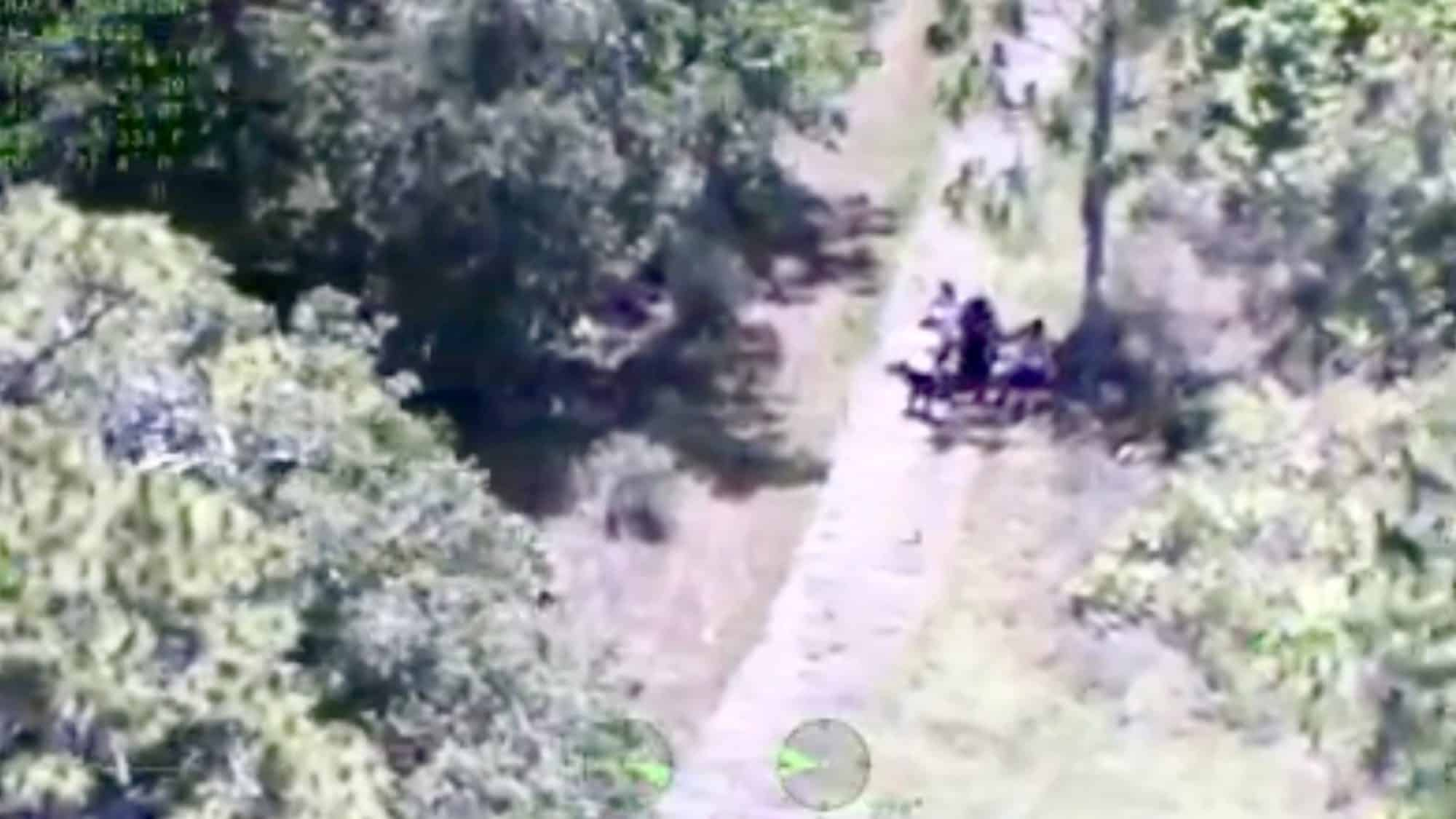 Drone finds lost hiking family in Florida nature reserve