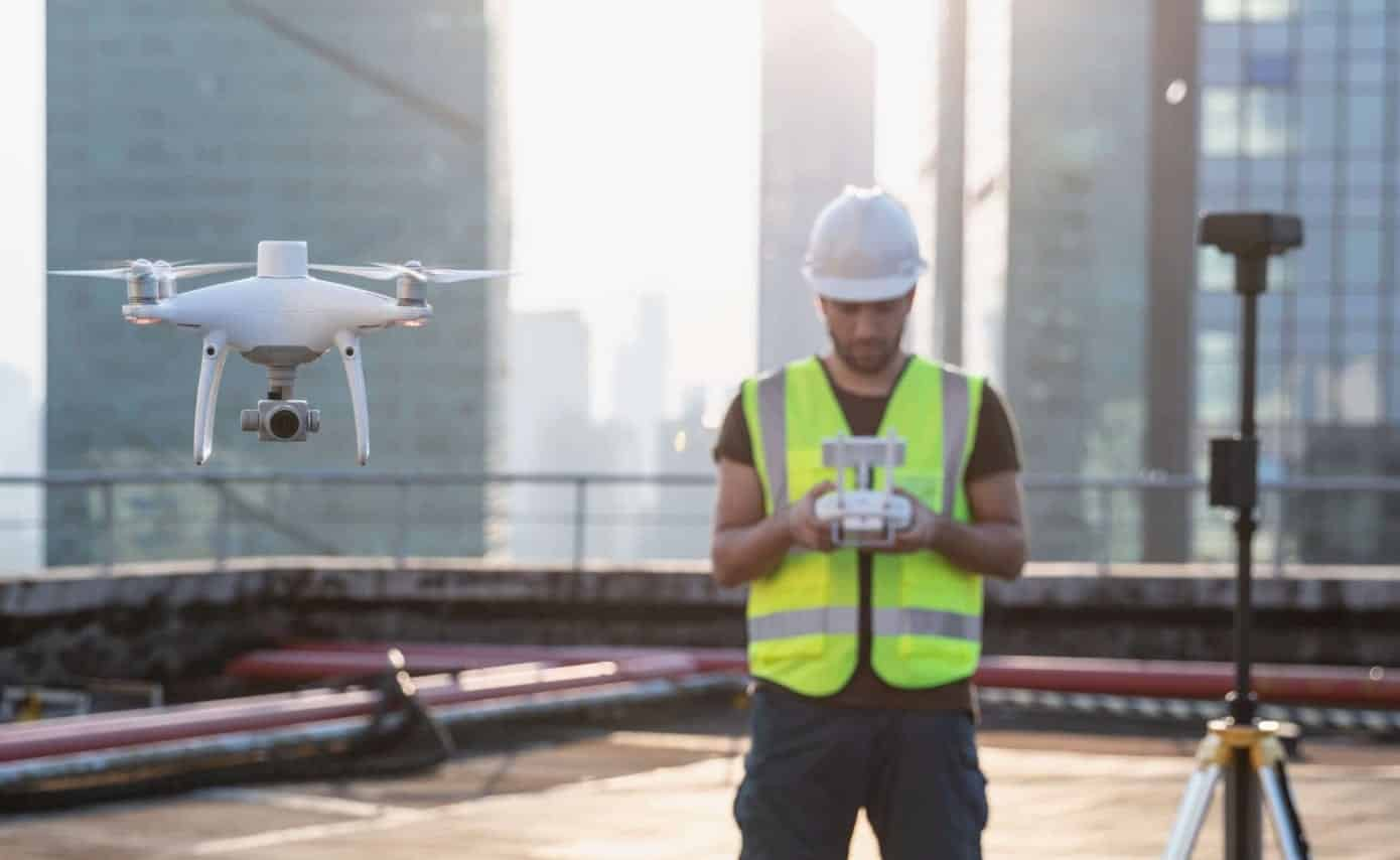 DJI Phantom 4 RTK now supported in Kespry aerial intelligence platform release