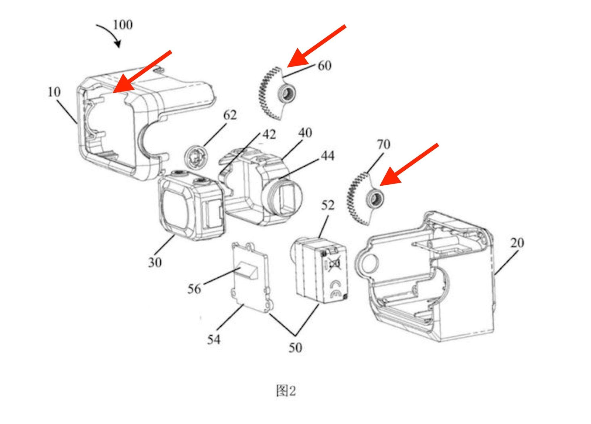 DJI FPV camera shows up in patent. Will DJI finally release an FPV drone?
