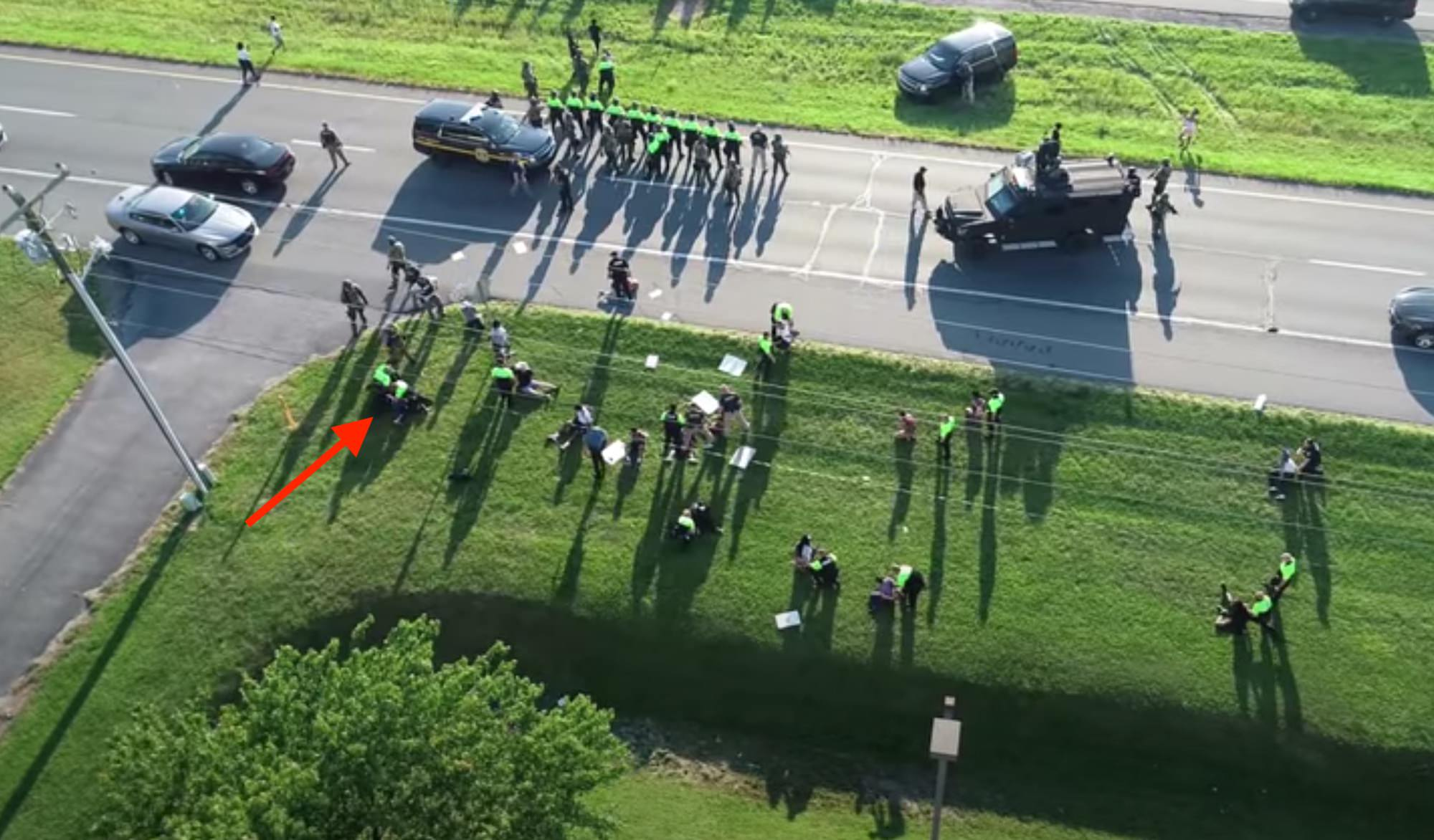 Dover Police Department uses drone video to show arrest journalist in release statement