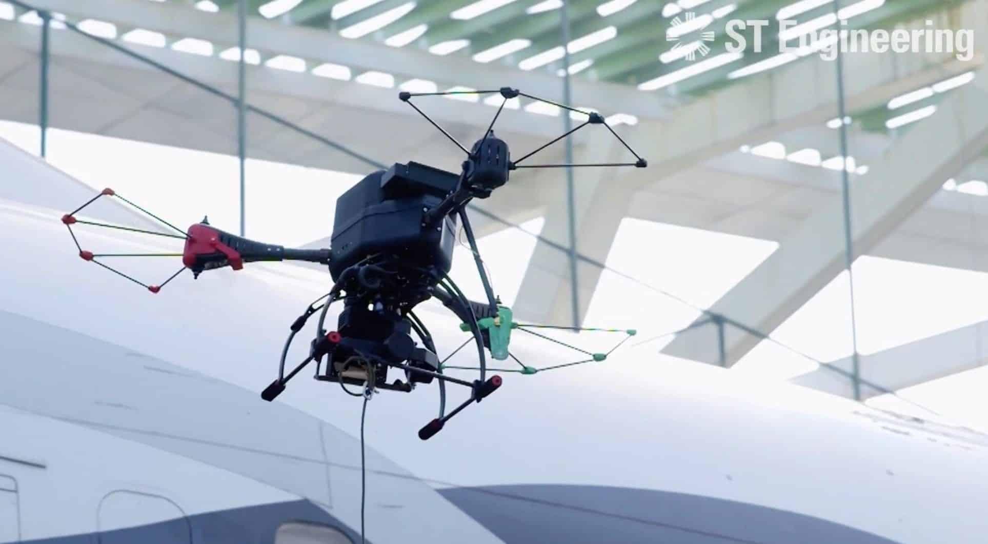 Drone solution makes aircraft hangar a smart facility