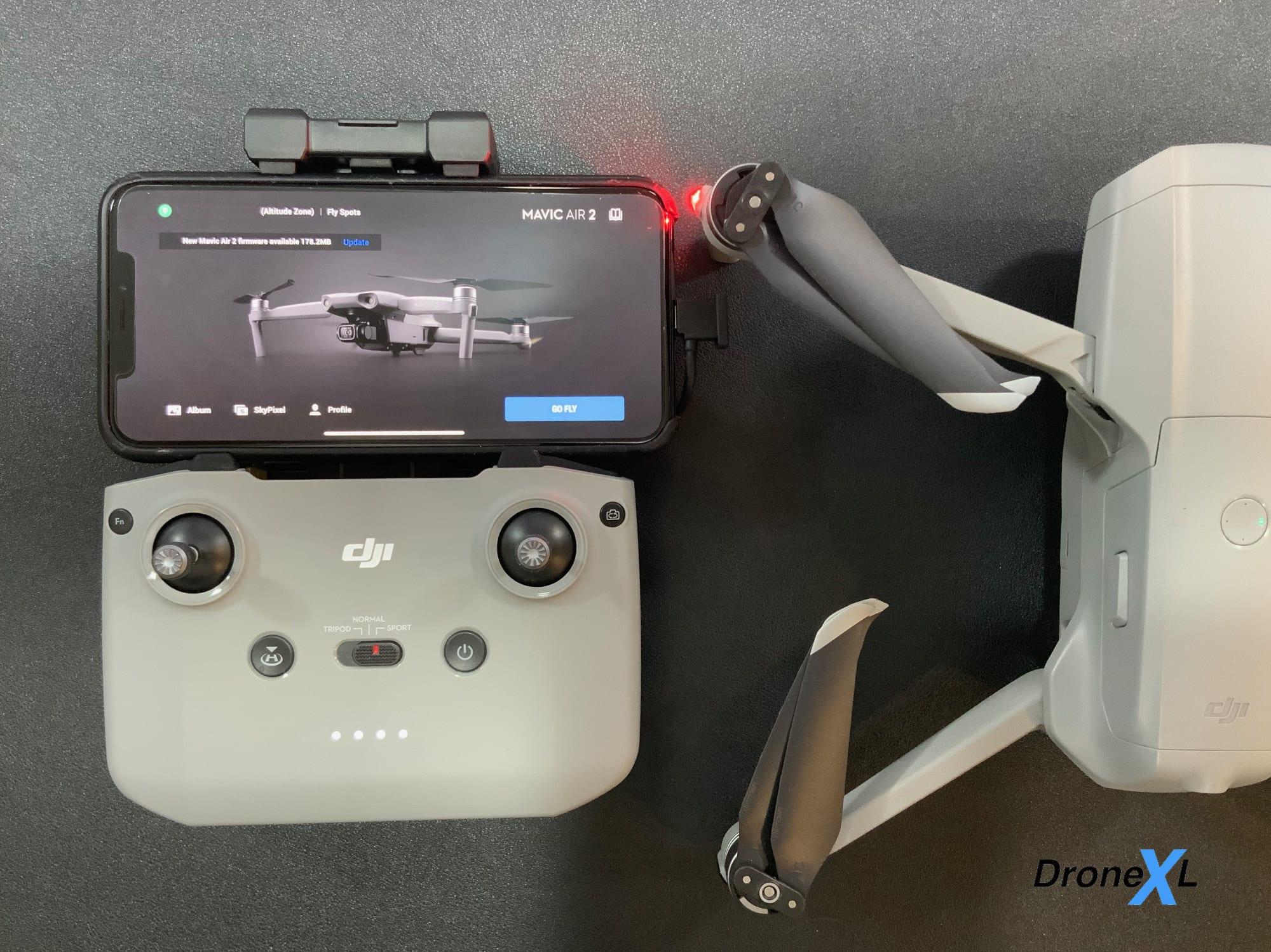 DJI Mavic Air 2 firmware update released - V01.00.0250
