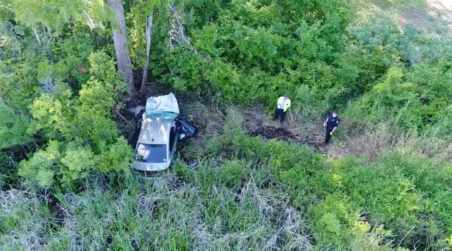 "Judge orders release of police drone videos from investigation into ""phantom car crash"""