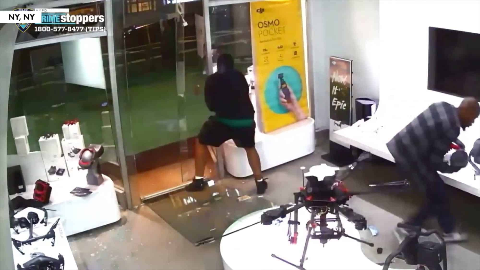 $16,000 worth of DJI drones stolen from DJI Store in NYC