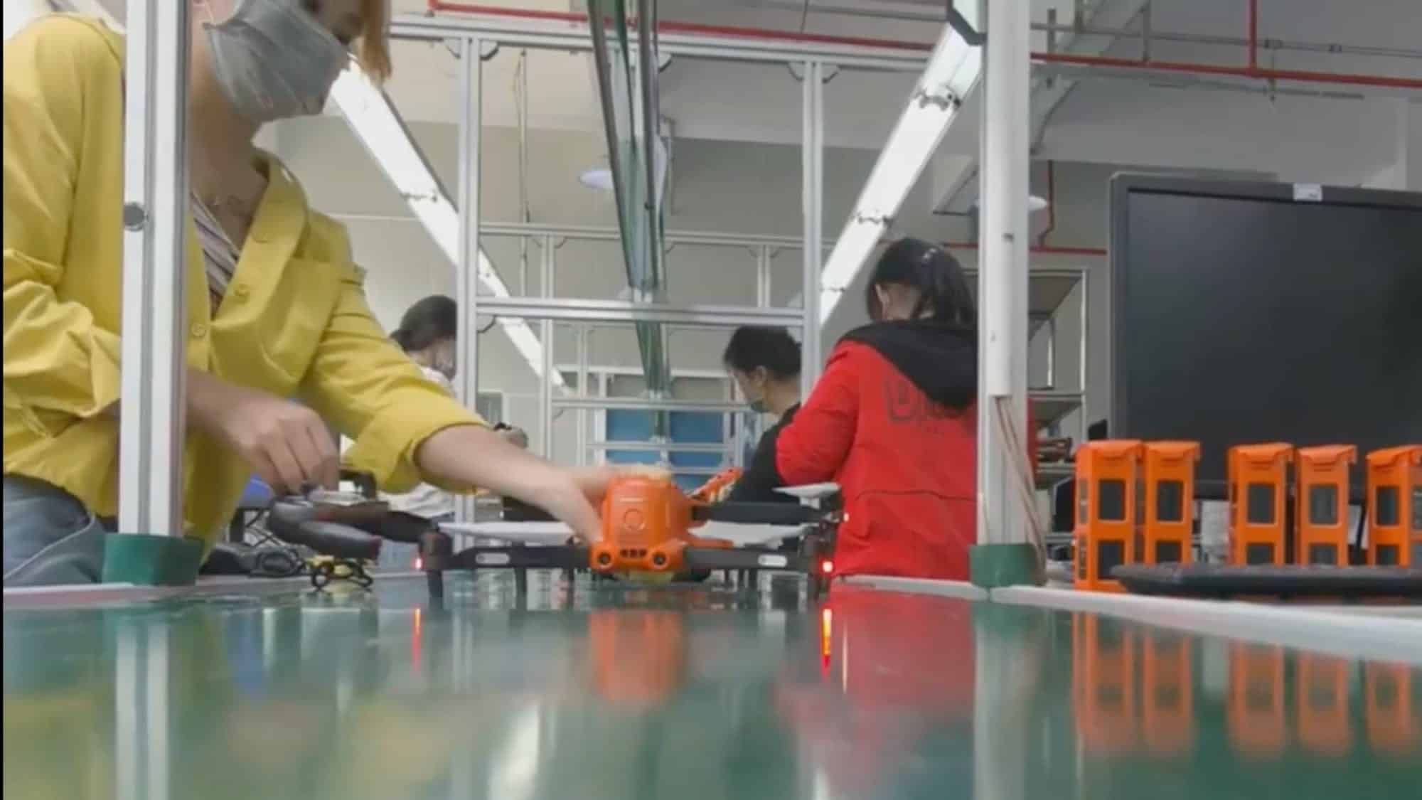 Sneak-peek into Autel Robotics' production line