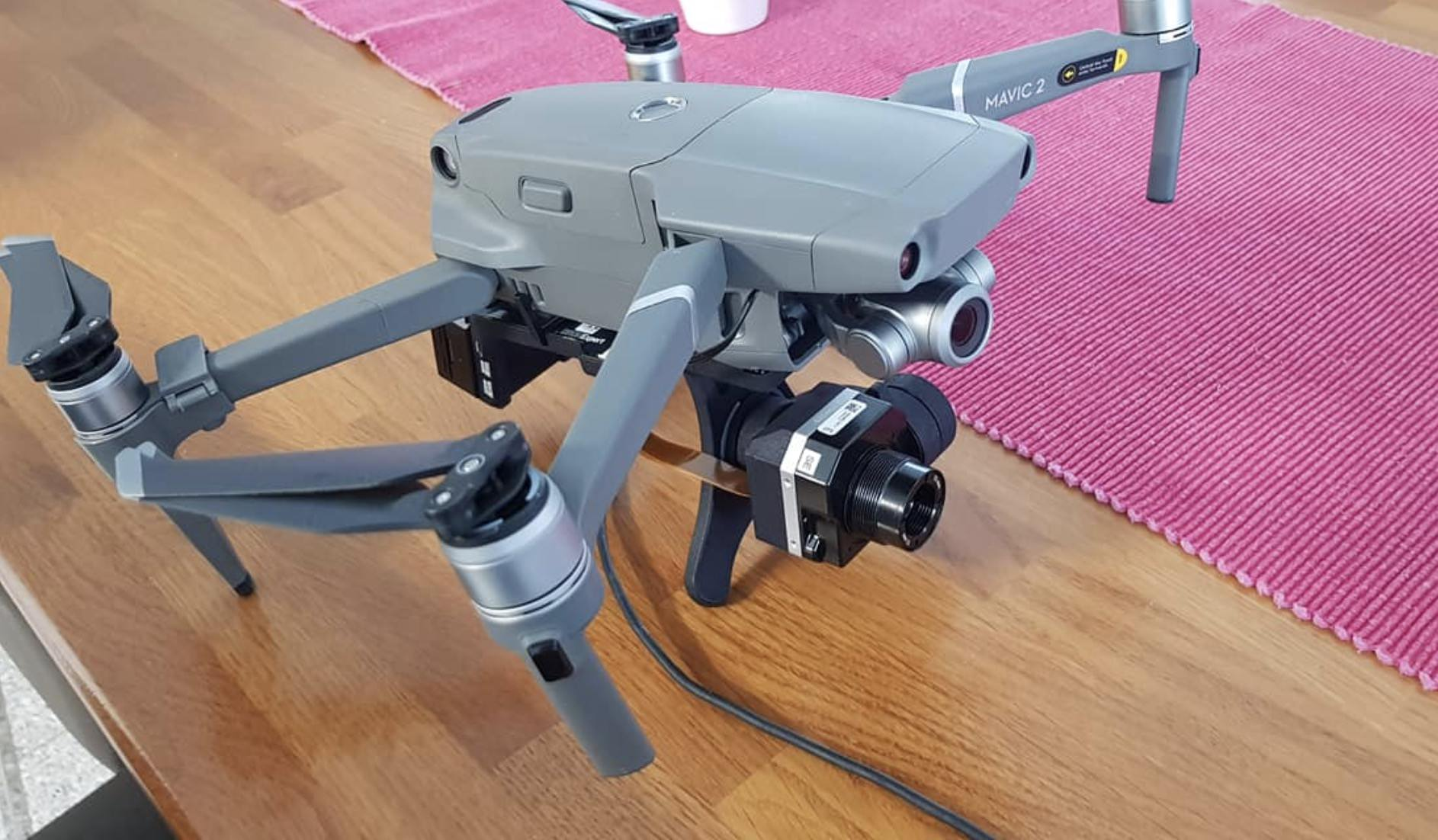 So you need a thermal drone, but you don't trust French drones