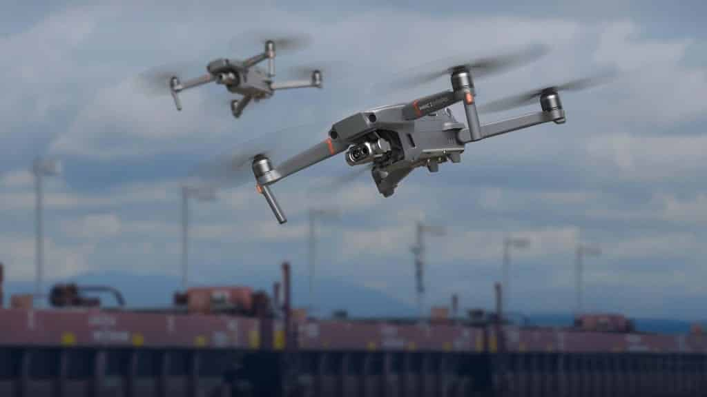 US police are being warned by the Department of Homeland Security that surveillance drones made by Chinese drone maker DJI are at risk of having their data intercepted.