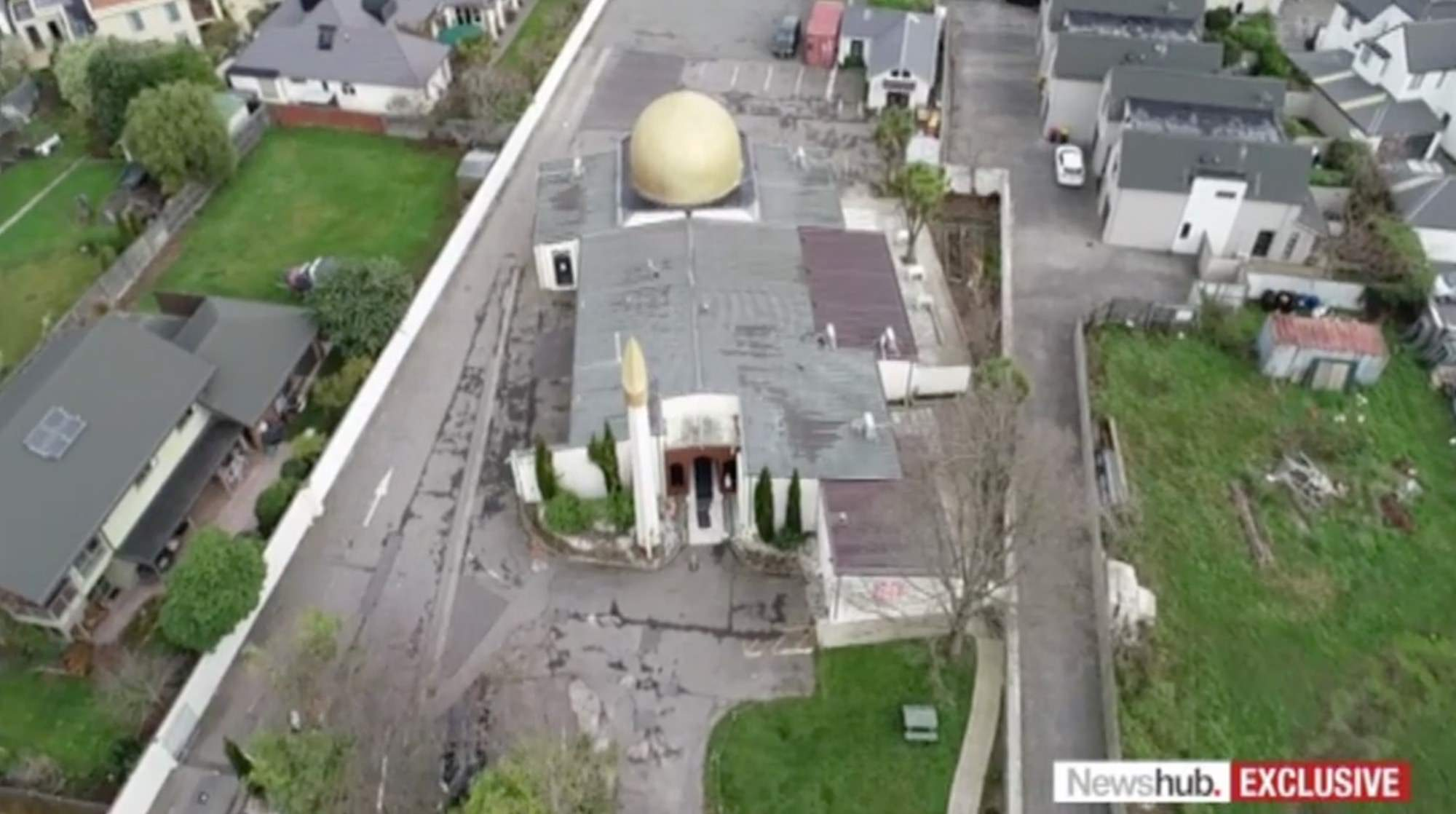 Christchurch gunman flew a drone over mosque weeks before March 15 shooting