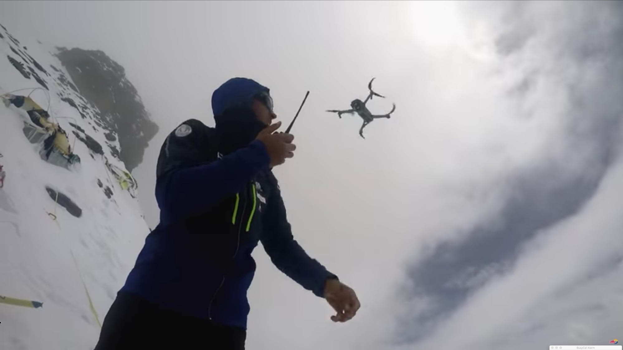 DJI Mavic Pro explores K2 mountain, delivers medicine and rescues climber from Broad Peak