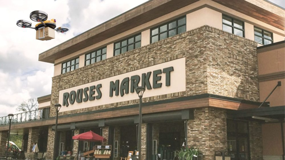 Deuce Drone and Rouses Market will test groceries delivered by drone this fall