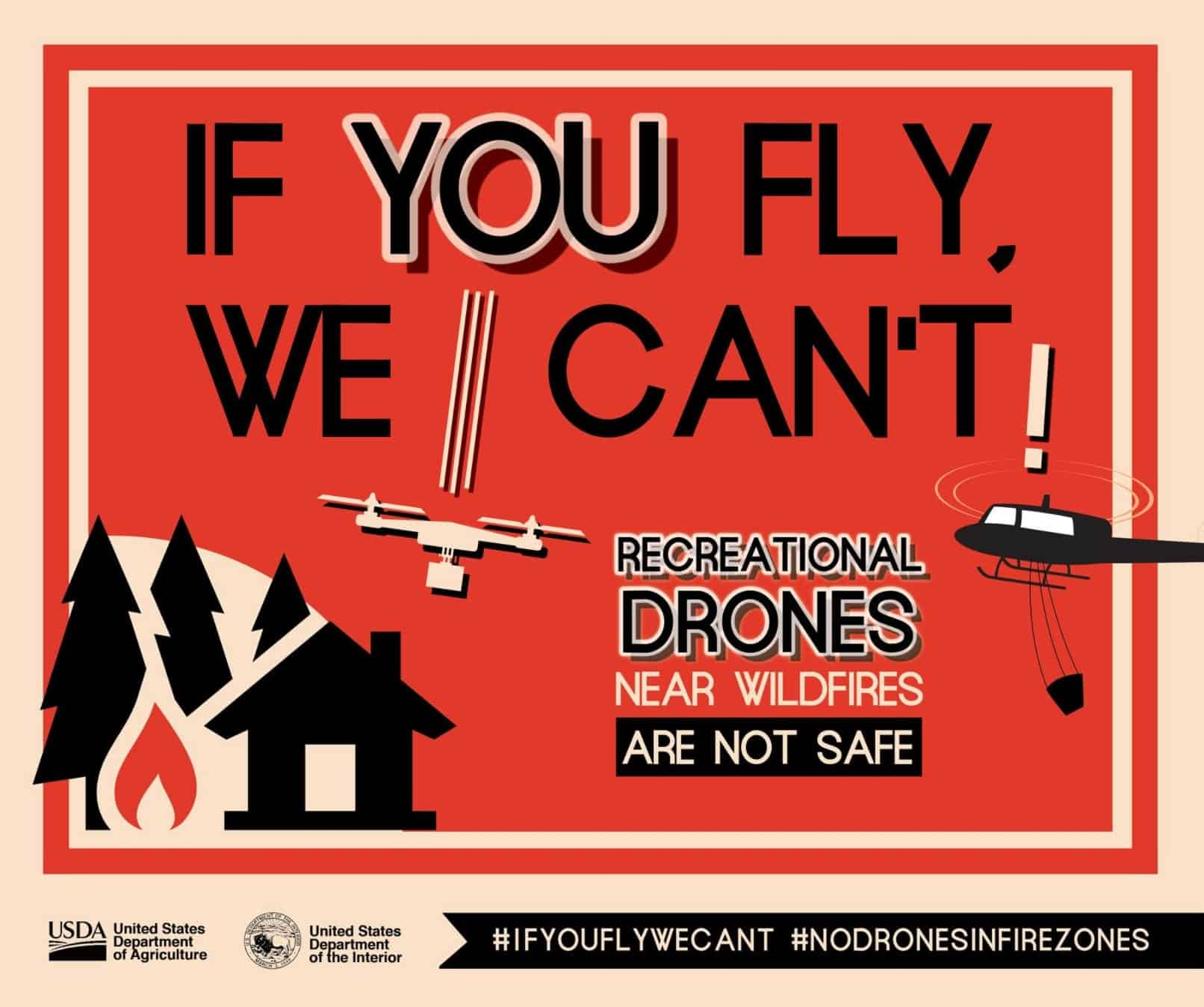 Illegal Drones grounds aircraft fighting large wildfires in Oregon