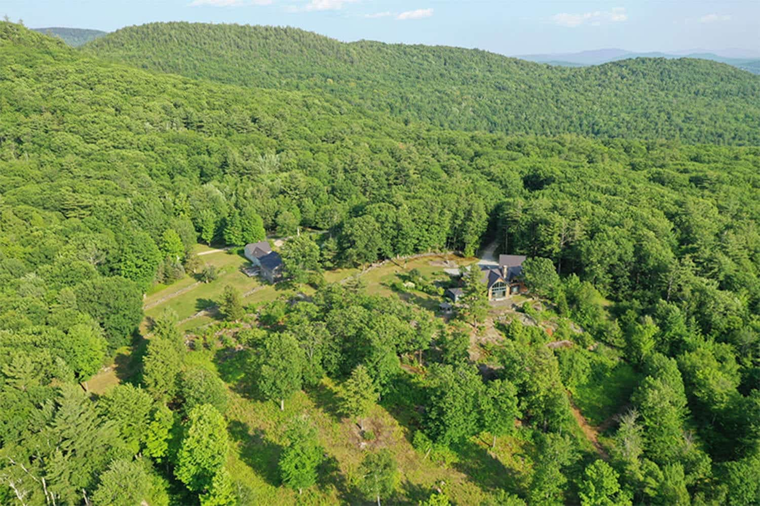 Drone footage shows Ghislaine Maxwell's secluded hideaway in NH
