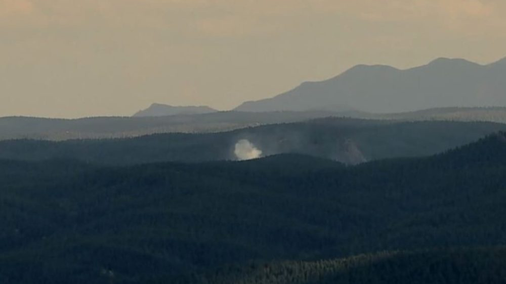 Drone hindered firefighters in battle with Larkspur wildfire in Colorado