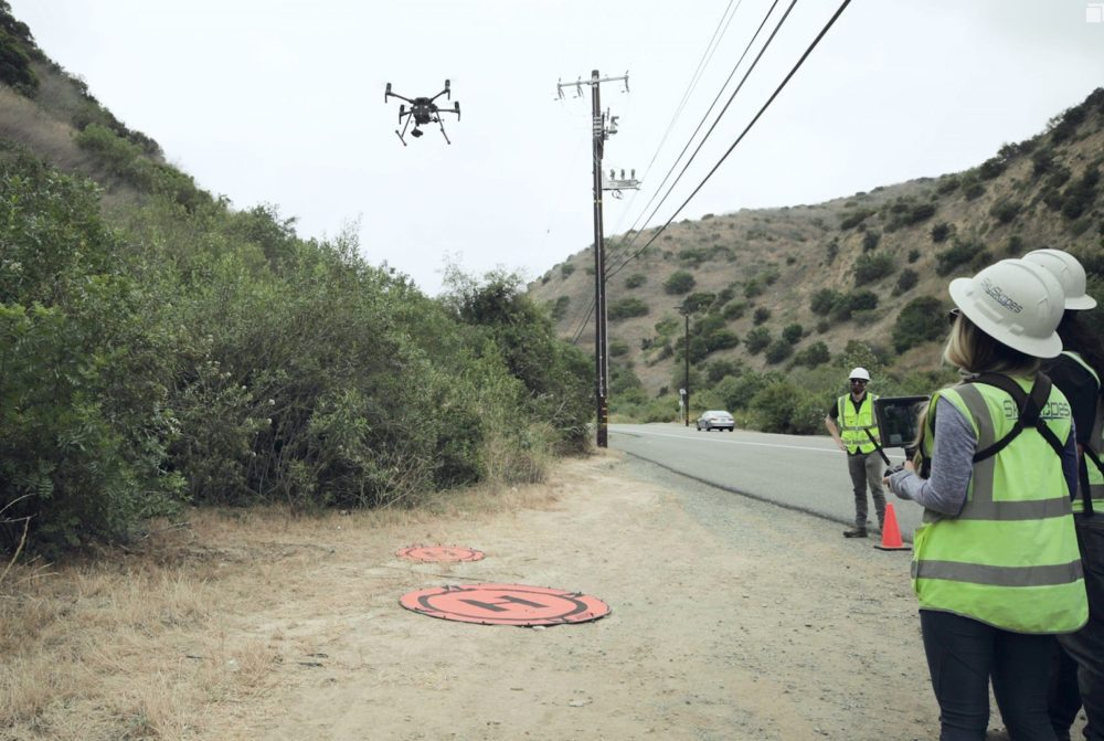 Drones used to inspect Southern California Edison equipment