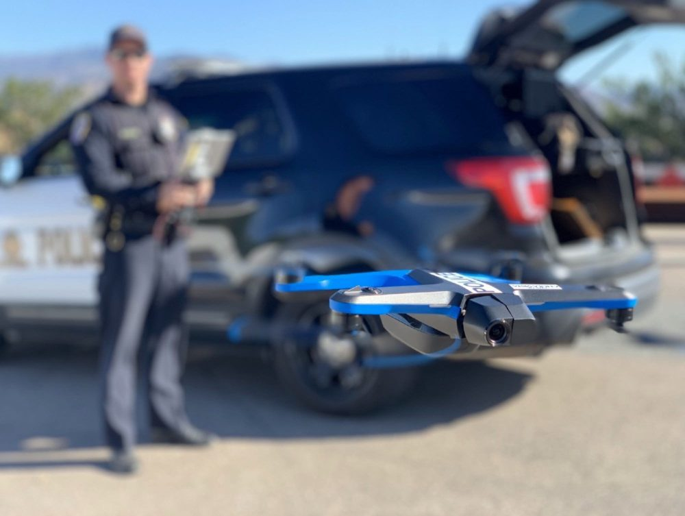 Chula Vista police drone - FAA approval for Chula Vista Police Department to fly beyond-visual-line-of-sight
