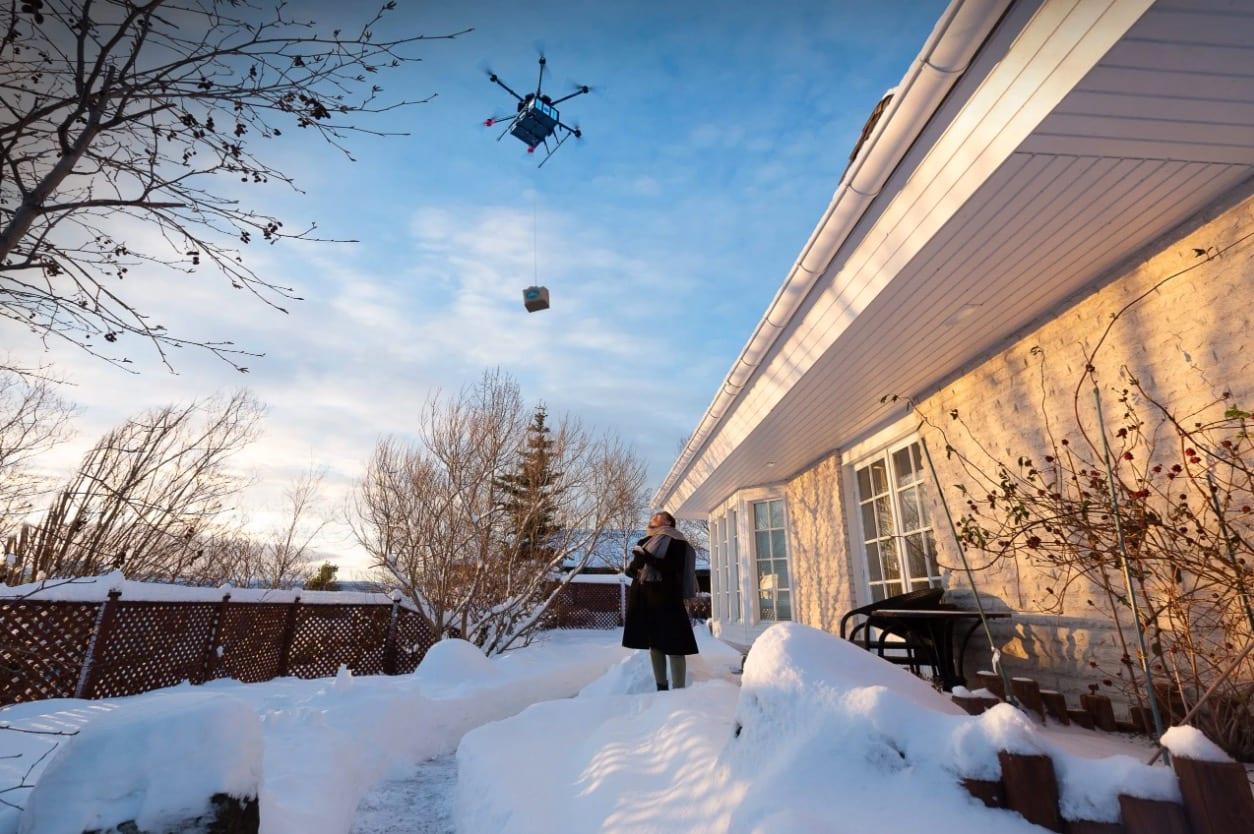 Flytrex is testing deliveries by drone in North Dakota and North Carolina and if you thought that drone deliveries were still off in the distant futur