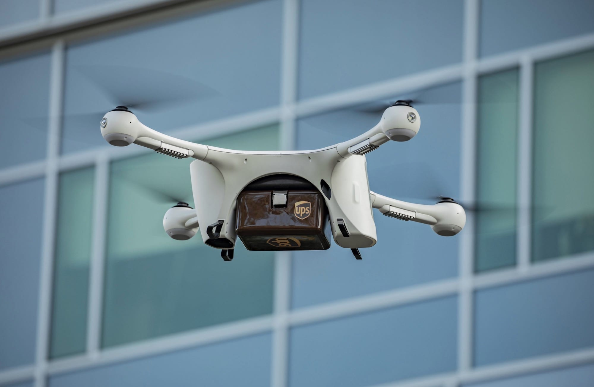 Matternet M2 drone used by UPS Flight Forward in new hospital delivery network