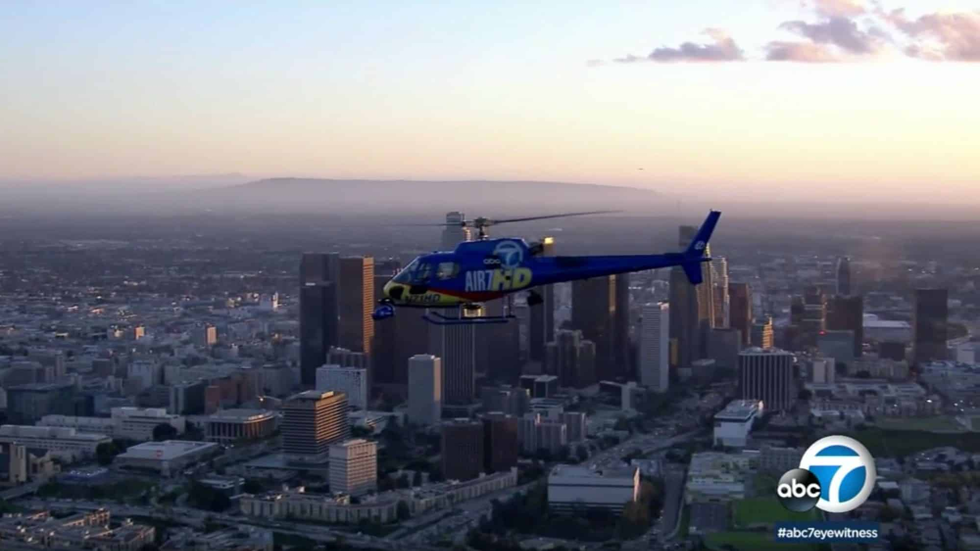 News helicopter likely struck by drone, says NTSB