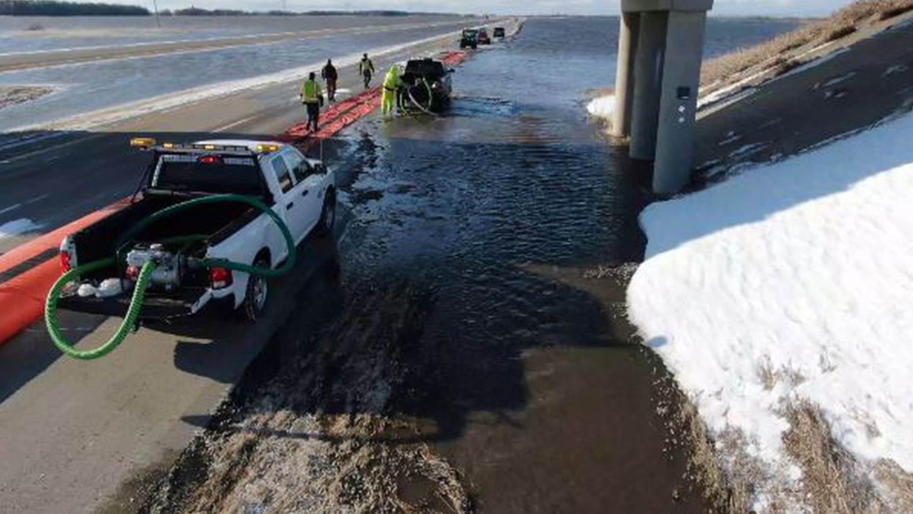 North Dakota DoT uses drones for flood season