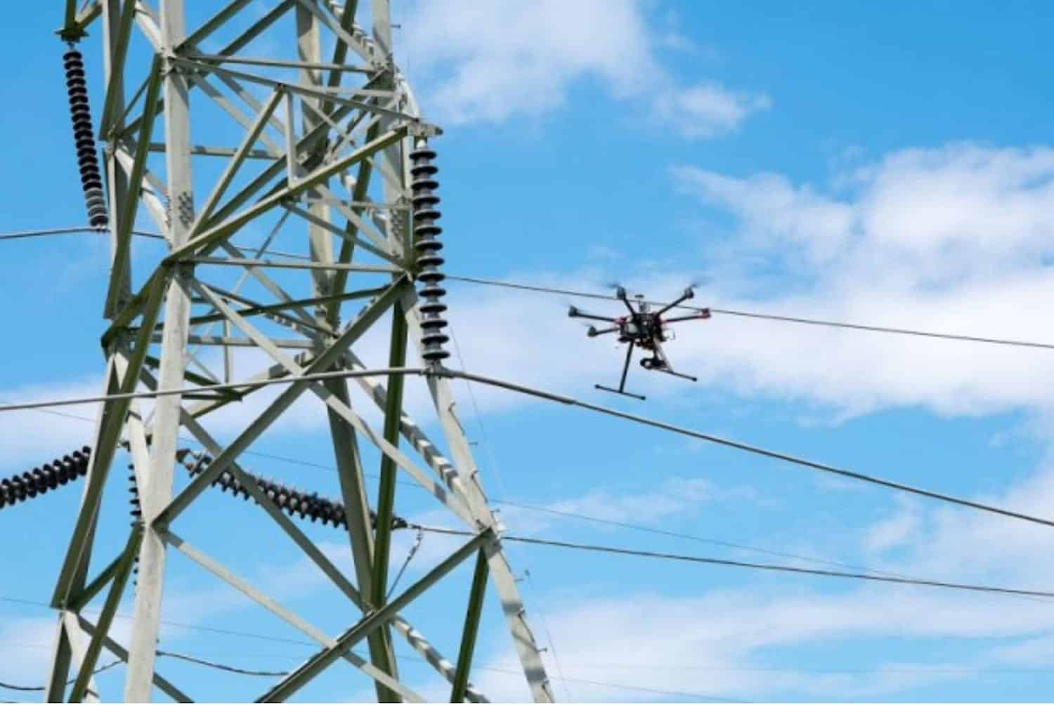 PG&E conducts power line inspections with drones and helicopters