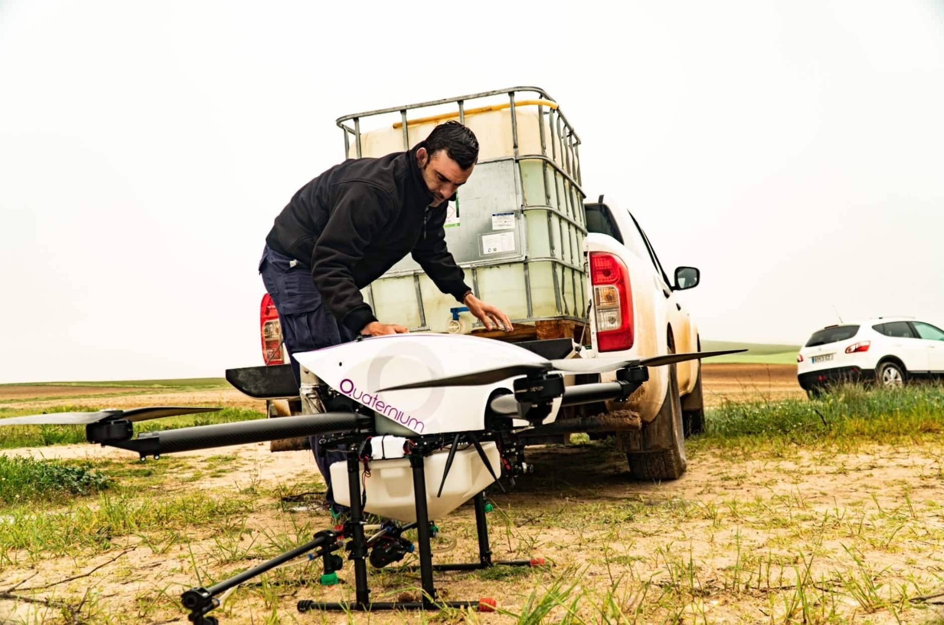 Quaternium HYBRiX drone opens new opportunities for farmers