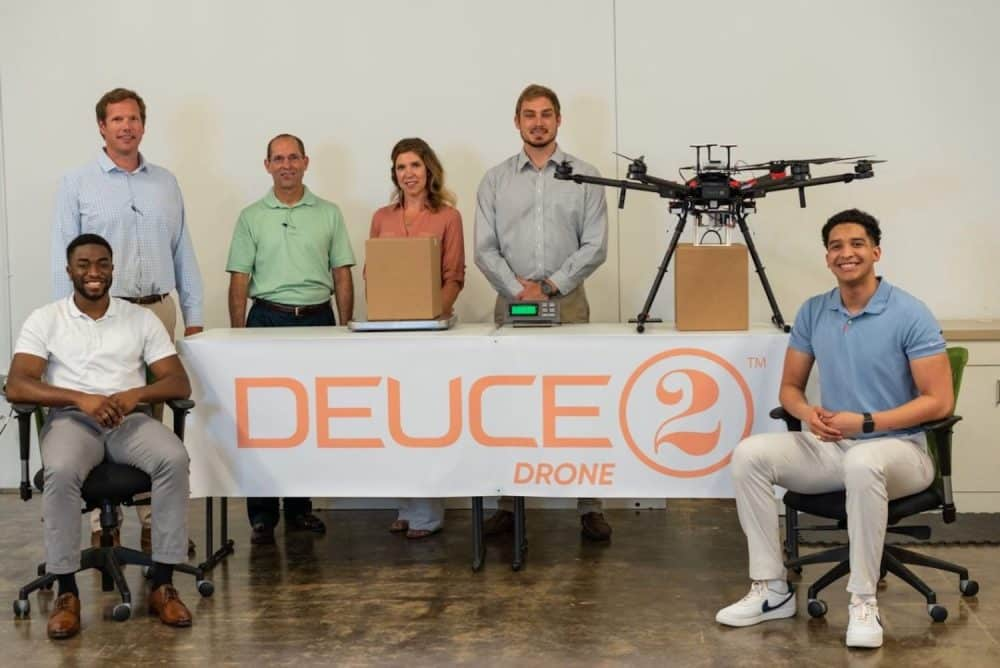Drone Deuce's deliveries might start as soon as next month in Mobile, AL