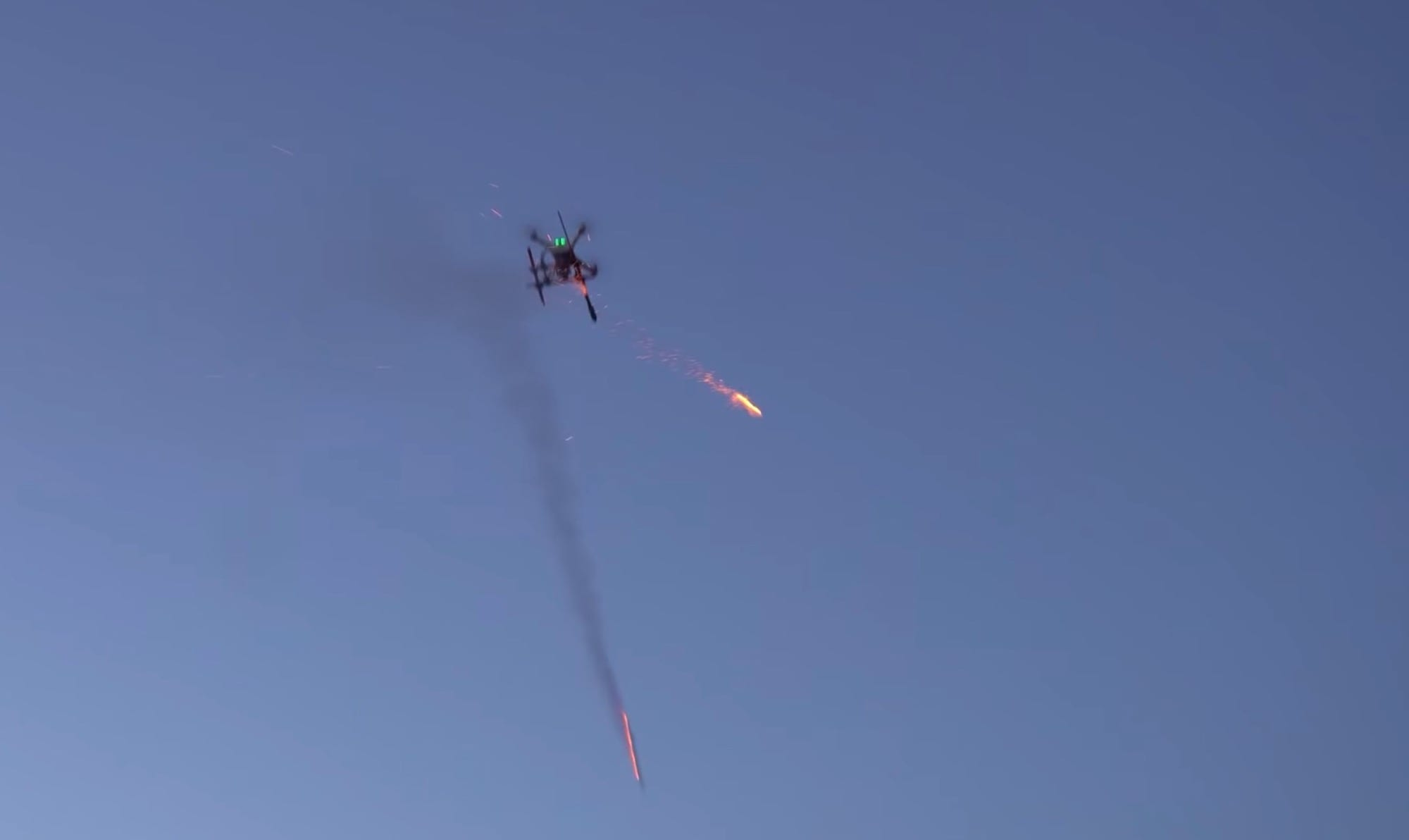 Shooting fireworks from a DJI Phantom drone <p data-wpview-marker=